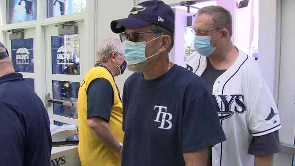 Tampa Bay Rays expand capacity, make masks optional for vaccinated fans