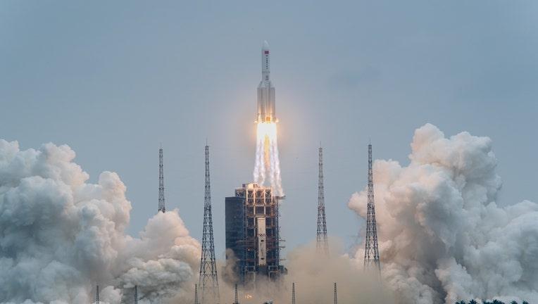 China Hainan Space Station Launch