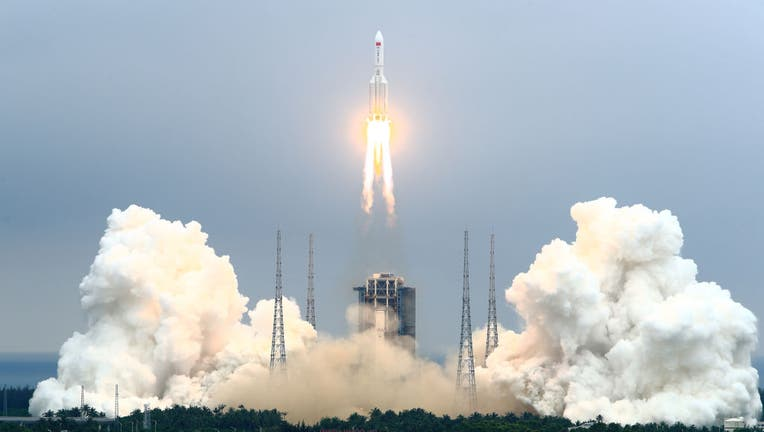 5c61d4bb-China Launches Space Station Core Module Tianhe