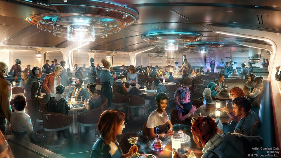 star wars galactic cruiser hotel