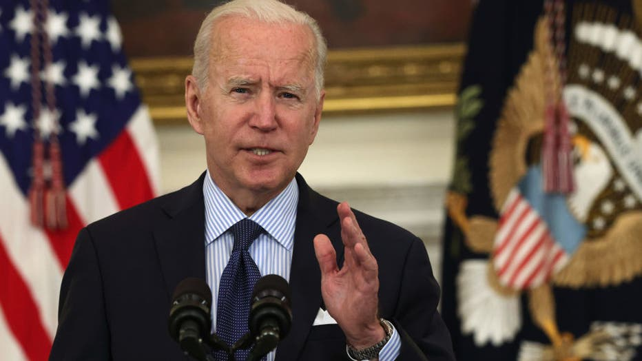 President Biden Delivers Remarks On Administration's Pandemic Response And Vaccination Program