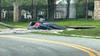Florida troopers: Car swallowed by hole after hitting fire hydrant