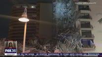 Partial collapse of high-rise condo near Miami Beach, many feared dead