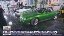 A sneak peek into the James Bond museum