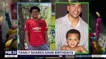Family Focus: Minnesota family shares same birthdays