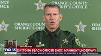 Orange County Sheriff John Mina discusses ongoing Daytona Beach manhunt