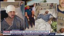 Florida firefighter who survived the fight of his life talks to FOX 35