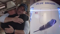 Bid of $28 million wins a rocket trip to space with Jeff Bezos