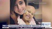 Preschoolers celebrate 'moving up'