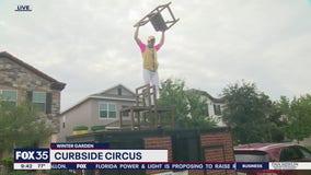 Curbside Circus service in Winter Garden