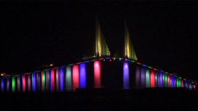 After denying initial request, FDOT allows Sunshine Skyway Bridge to light up for Pride