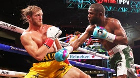 Logan Paul lasts the distance against Floyd Mayweather in exhibition