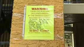 Kissimmee condo residents receive notice that parts of complex have been deemed 'unsafe'