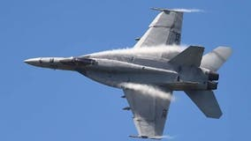 U.S. Navy conducting bombing training in Ocala National Forest