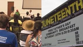 Central Florida communities celebrate Juneteenth