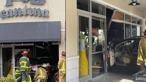 PHOTOS: SUV crashes through window of Central Florida restaurant