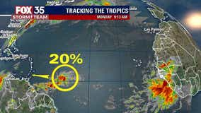 Tropical wave emerges in Atlantic, Claudette becomes Tropical Storm again
