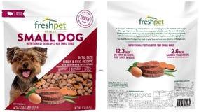 Freshpet recalls dog food due to potential salmonella contamination