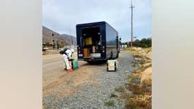 Spilled liquid fabric softener prompts hazmat situation on California highway