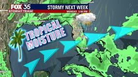 More thunderstorms expected Wednesday; rain chances dissipate then ramp up next week