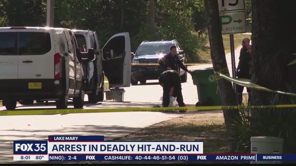Arrest made in deadly Lake Mary hit-and-run incident