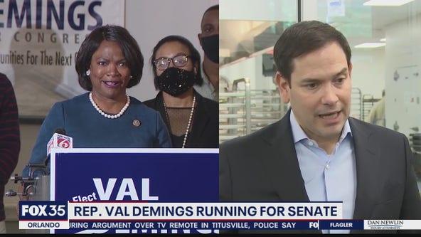 Demings announces bid to unseat Rubio