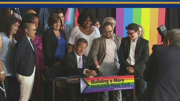 Cuomo signs Gender Recognition Act, NY adds 'X' gender mark on government IDs