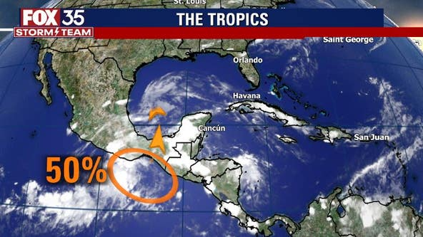 Forecasters watching for possible tropical development in Gulf of Mexico