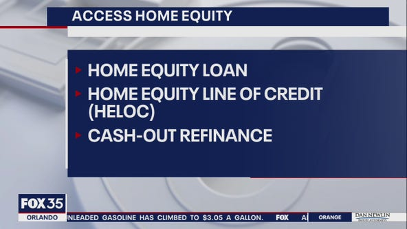 Home equity jumping