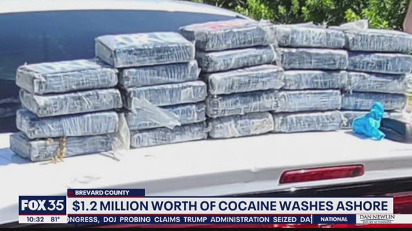 Cocaine washes ashore at Cape Canaveral Space Force Station