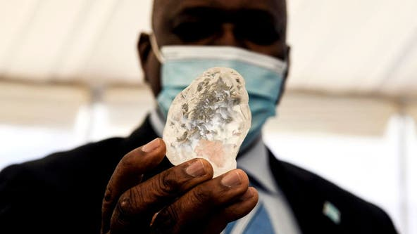 Diamond believed to be world's third-largest discovered in Botswana