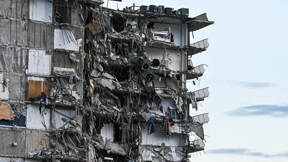 PHOTOS + VIDEOS: Partial collapse of high-rise condo near Miami Beach