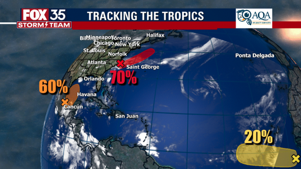 NHC: Tropical wave forms near Africa, increased chances for 2 other areas