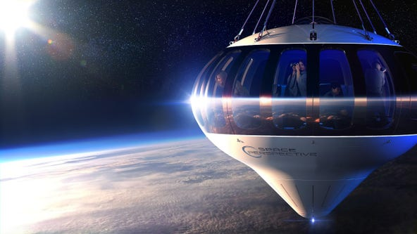 Florida company selling tickets for 'space balloon' rides
