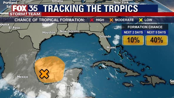 Chances increase for system in Gulf to become next named storm