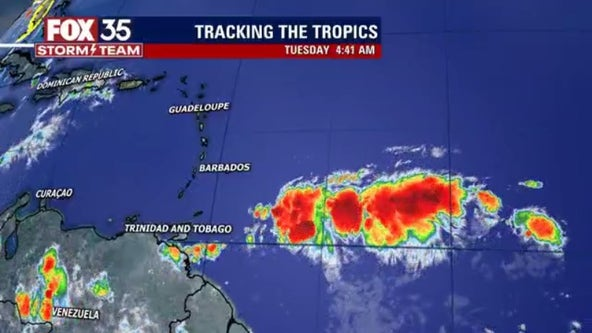 NHC: Forecasters continue to monitor tropical wave in Atlantic