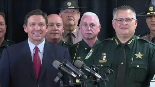 Florida Gov. DeSantis sending law enforcement personnel to aid Texas, Arizona with border crisis