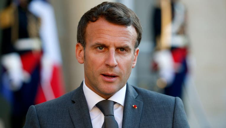 Emmanuel Macron Receives Libya's Prime Minister Abdul Hamid Dbeibah
