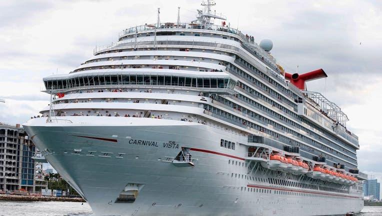 FILE - The Carnival Cruise Ship