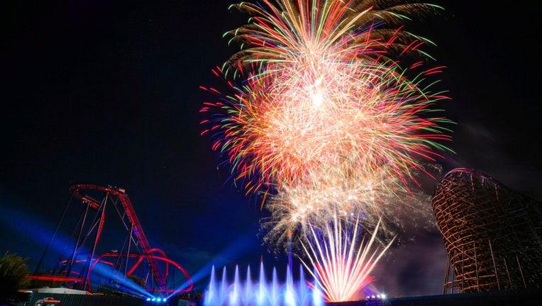 busch gardens spark fireworks summer nights