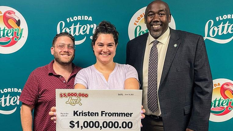kristen frommer lottery winner