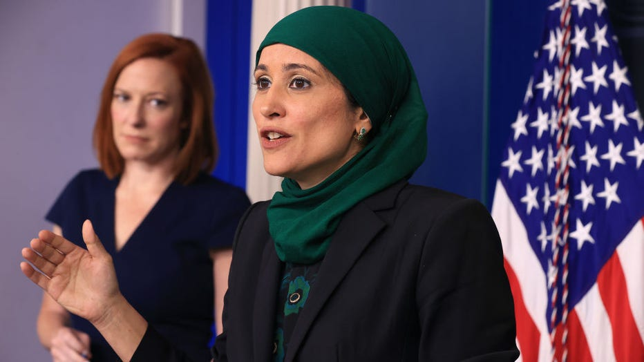 a71ebb2a-Press Secretary Psaki Is Joined By Economic Advisors For Daily White House Briefing