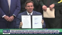 First hearing set for lawsuit challenging Florida's 'anti riot' law