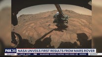 NASA unveils first results from Mars Perseverance Rover