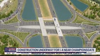 Construction underway for I-4 near Championsgate