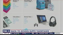 Back-to-school supply shortages