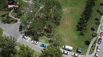 SKYFOX Drone over Barnett Park COVID testing site
