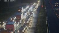 Crash causes major delays on I-4 westbound in Seminole County