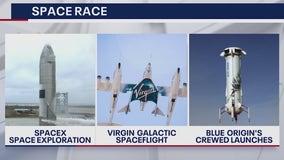 Battle of the billionaires: Space race heats up on heels of Bezos' flight