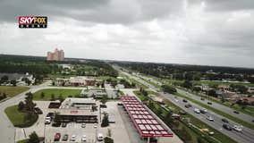 SKYFOX Drone flies over South Orange County